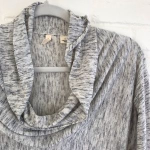 Anthropologie Sweaters - Anthropologie Moth Gray light neck Sweater Small